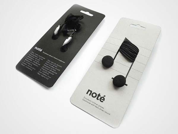 14095579201047 02 Note Headphones These product packaging ideas take creativity to a whole new level!! Number 22 is unmissable!