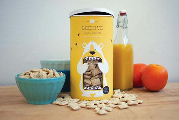 14095579201506 04 Beehive Honey Squares These product packaging ideas take creativity to a whole new level!! Number 22 is unmissable!