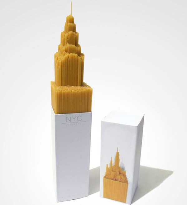 14095579207275 05 NYC Spaghetti These product packaging ideas take creativity to a whole new level!! Number 22 is unmissable!