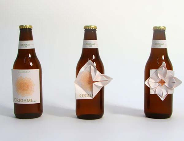 14095579215288 10 Origami Beer These product packaging ideas take creativity to a whole new level!! Number 22 is unmissable!