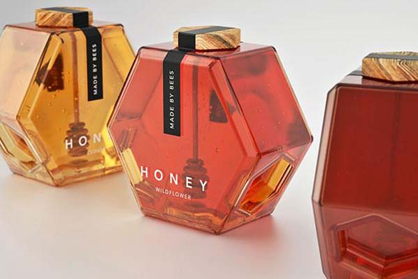 14095579218062 13 Honey Made by Bees These product packaging ideas take creativity to a whole new level!! Number 22 is unmissable!