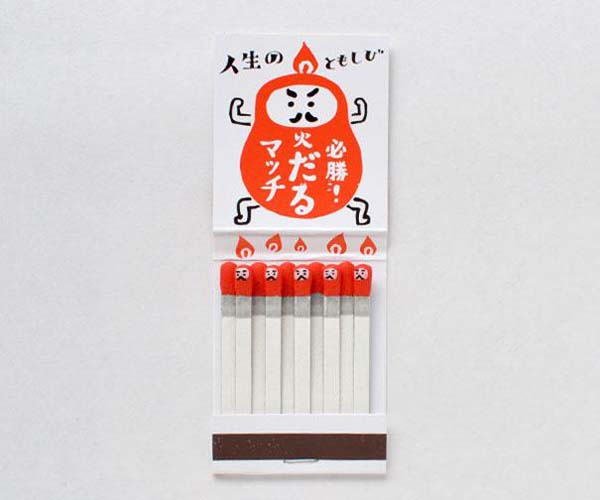 14095579224424 15 Kokeshi Matchsticks These product packaging ideas take creativity to a whole new level!! Number 22 is unmissable!