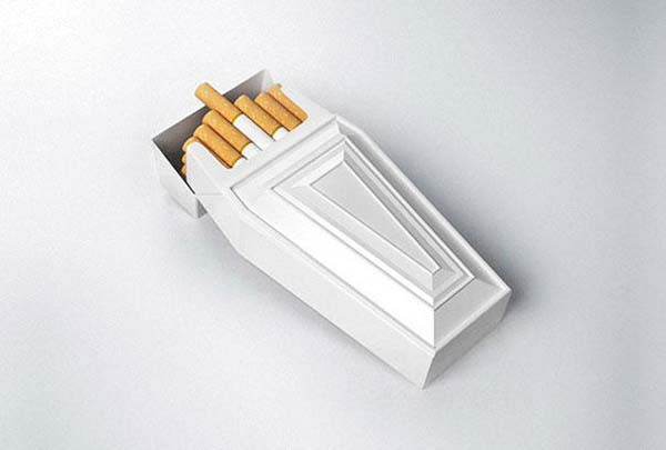14095579241943 38 Coffin Shaped Cigarette Case These product packaging ideas take creativity to a whole new level!! Number 22 is unmissable!