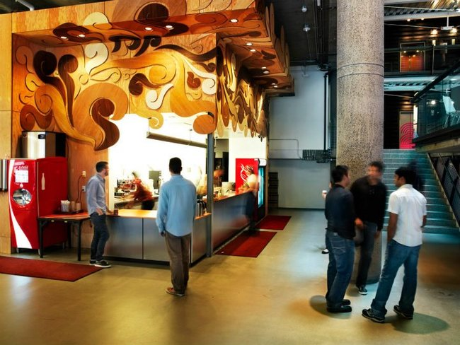 These cool office designs can make even the dullest task for Zynga office design