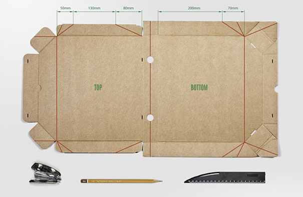 14095585314380 diy pizza box 1 2 Your Pizza Box isnt Just meant to serve you Pizza! Heres Why..