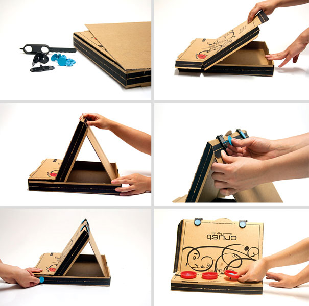 14095585479928 diy pizza box 9 1 Your Pizza Box isnt Just meant to serve you Pizza! Heres Why..