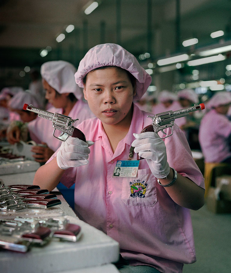 1409561728592 chinese factory workers toys 05 A pack of headless bodies? These images do a great job of stirring the ignorant souls