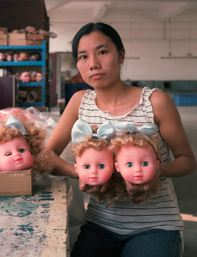 14095617292932 chinese factory workers toys 07 A pack of headless bodies? These images do a great job of stirring the ignorant souls