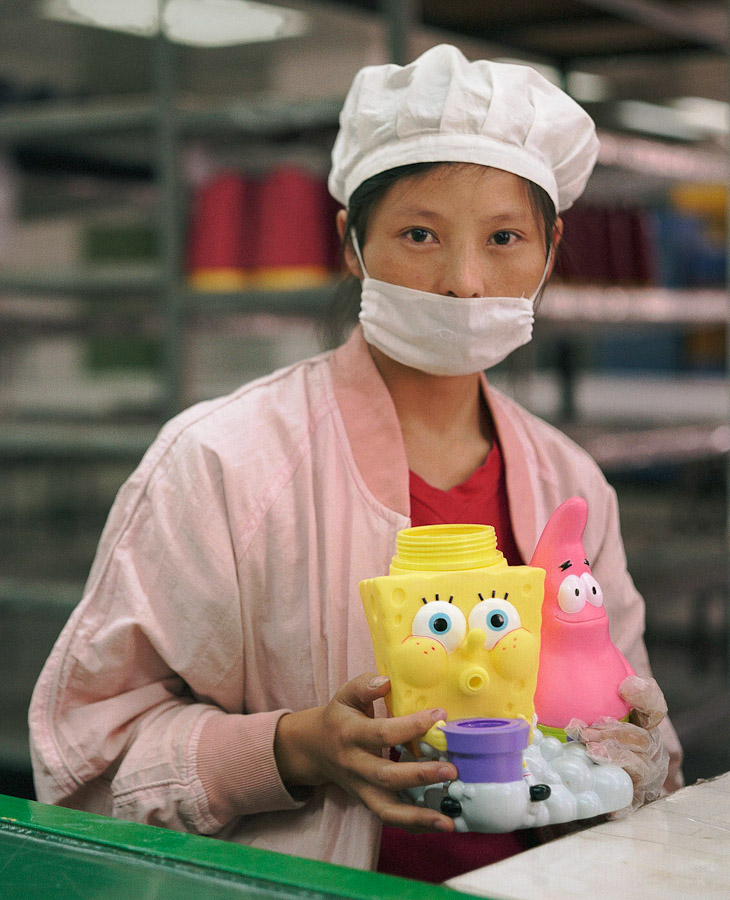 1409561729400 chinese factory workers toys 06 A pack of headless bodies? These images do a great job of stirring the ignorant souls