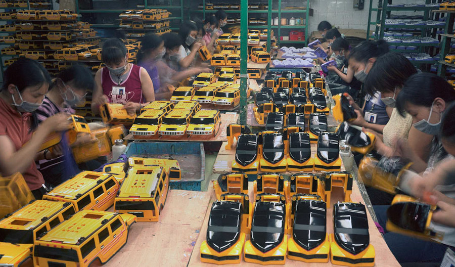14095617301838 chinese factory workers toys 13 A pack of headless bodies? These images do a great job of stirring the ignorant souls