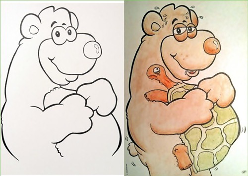 20 Hilariously Naughty Coloring Book Alterations | LogicGoat