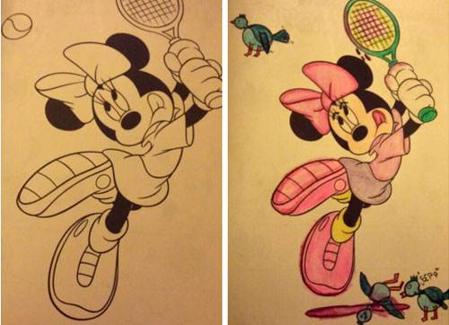 20 Hilariously Naughty Coloring Book Alterations | LogicGoat - Part 7